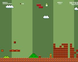 SuperMario Tetris